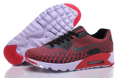 buy popular d22af 10030 Shop Nike Air Max 90 Ultra Moire QS 3D Reflective Burgundy Red White Black  Nike Air