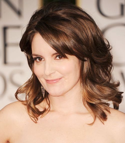 Tina Fey Hair   Hairstyles for Women Over 40   Good Housekeeping