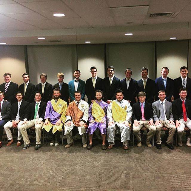 Proud of our new members. We welcome to Sigma Alpha Epsilon a class of 21.