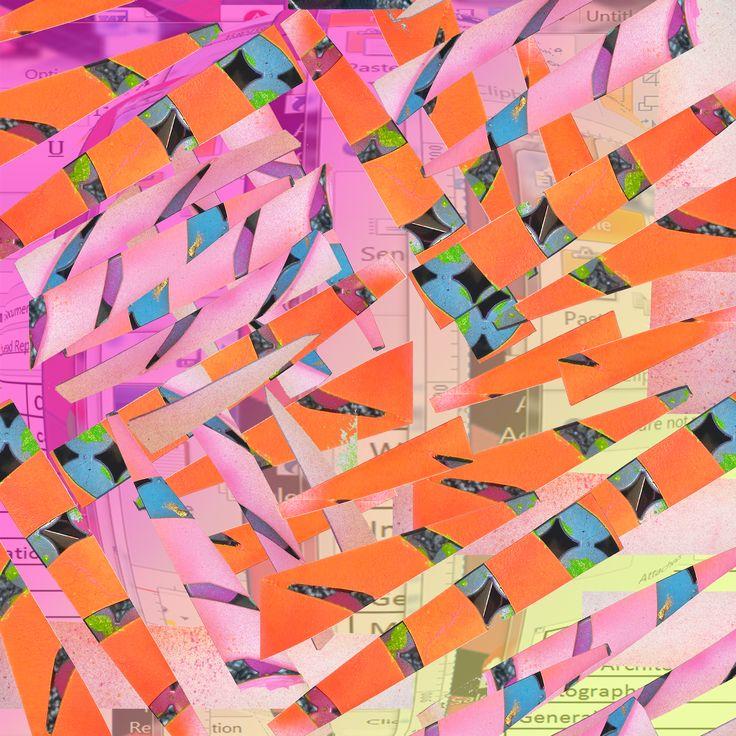 Cut Copy 2015 AOK #MissionArts #SFarts #SanFrancisco #SanFranciscoArt #DigitalPattern #PatternDesign #MissionNewWave #MissionSF #cutpattern #stencil #patterns #patternswatch #brightcolor #neonpattern #artist #patternart #design