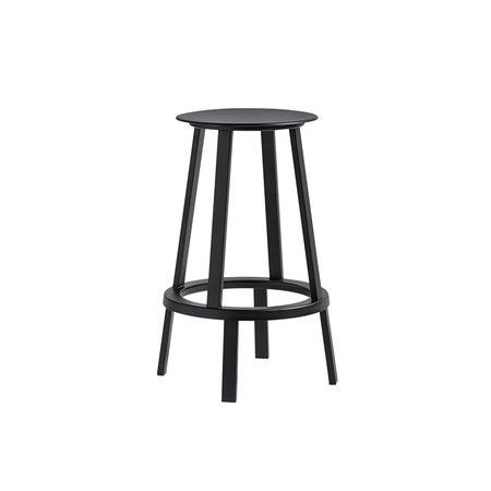 Wrong For HAY - Revolver Stool - Black