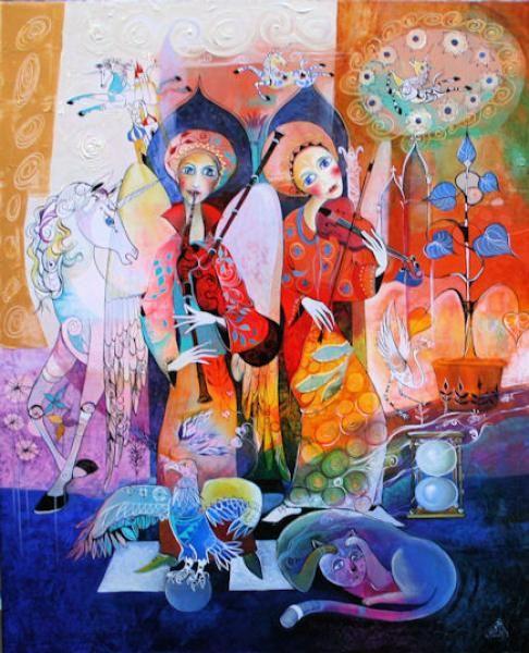 картины художника Didier Delamonica - 15