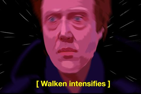 New party member! Tags: meme christopher walken walken intensifies