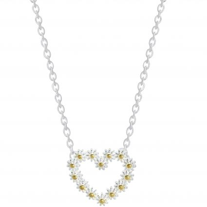 Daisy London's full collection of daisy jewellery