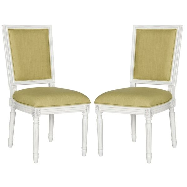 safavieh old world dining buchanan spring green rect dining chairs rh pinterest co uk
