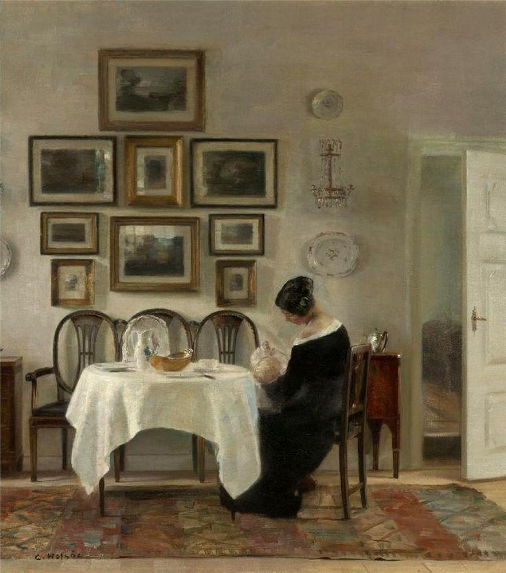 Датский художник CARL VILHELM HOLSOE. Обсуждение на LiveInternet - Российский…