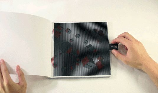 Moiré-effect book creates stunning animations on paper | Animation | Creative Bloq