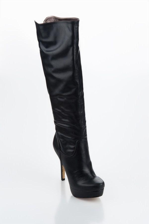 IPEKYOL Siyah Çizme IW6120035001 %49 indirimle 189,99 TL Trendyol'da