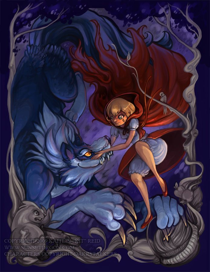 Red Riding Hood a la Darkstalkers