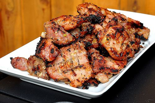 Thịt Nướng – Vietnamese Grilled Pork...this may be asking a little much of my measly cooking skills, but it sounds delicious.