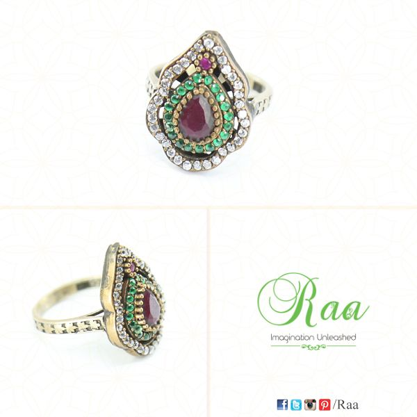 """Jewelry is about a joy for life and a timeless beauty that transcends fashion.""  ‪#‎diamonds‬ ‪#‎emerald‬ ‪#‎ruby‬ ‪#‎yellowgold‬ ‪#‎ring‬ ‪#‎jewelry‬ ‪#‎customized‬ ‪#‎raa‬ ‪#‎chennai‬"