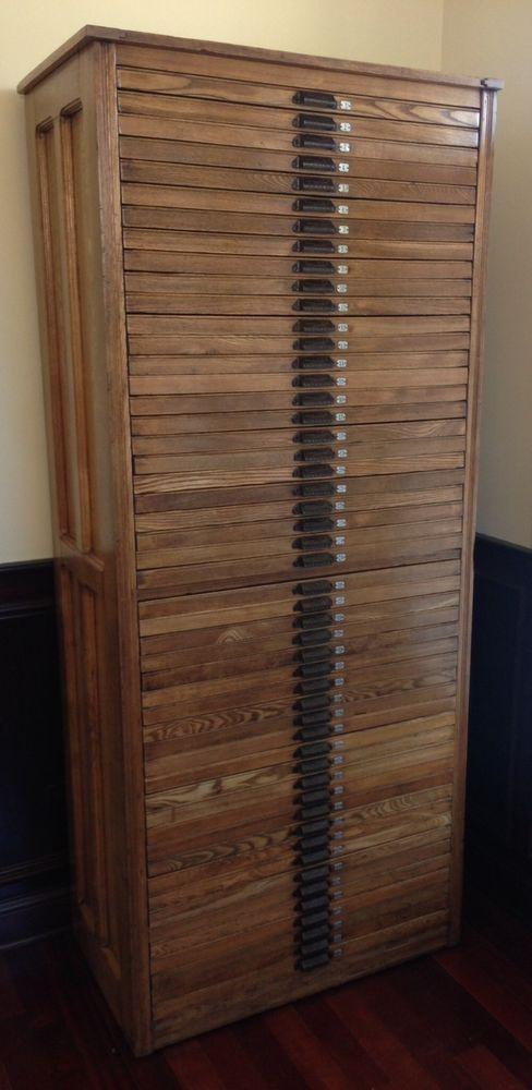 85 best Printers cabinets images on Pinterest | Furniture, Antique ...