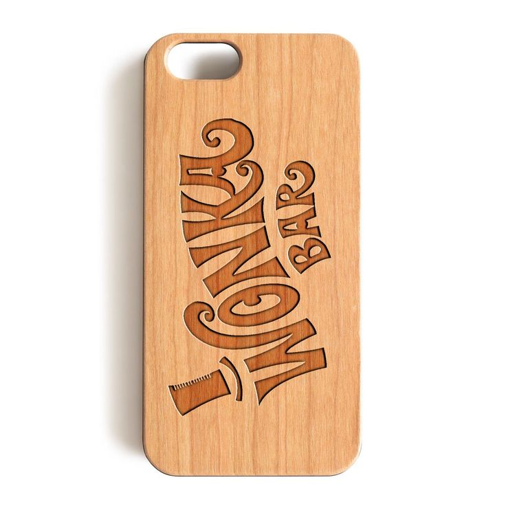 "iPhone 7 Wood Case, Wonka Chocolate Bar Wood-Pattern Case For iPhone 7 case 4.7"""