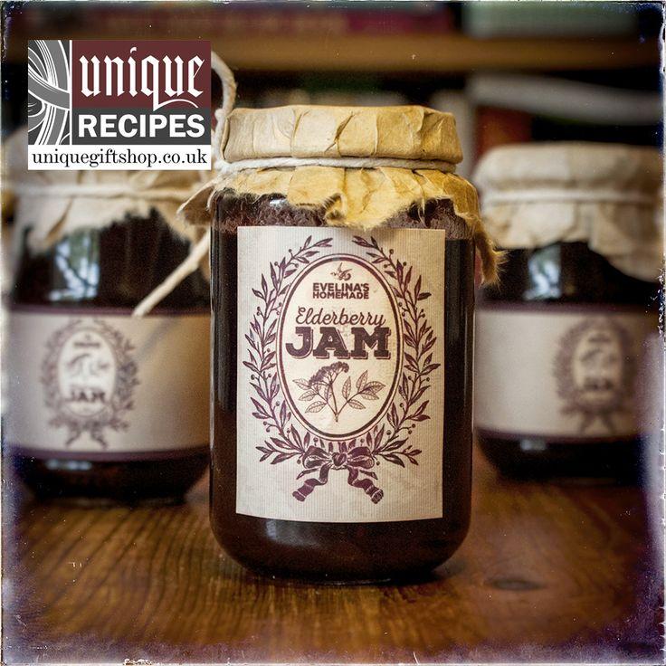 Homemade Elderberry Jam Recipe