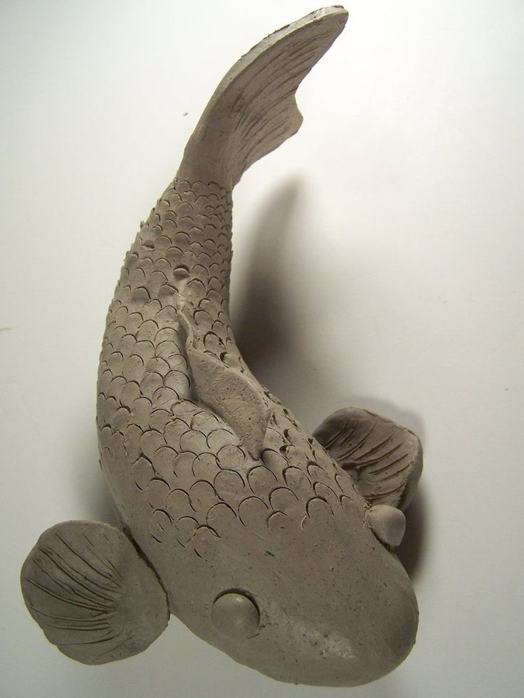 Clay Koi Fish by Kage-wolf13 on DeviantArt