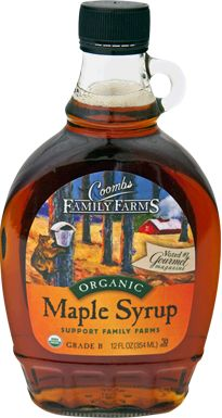 Coombs Family Farms Organic Grade B Maple Syrup