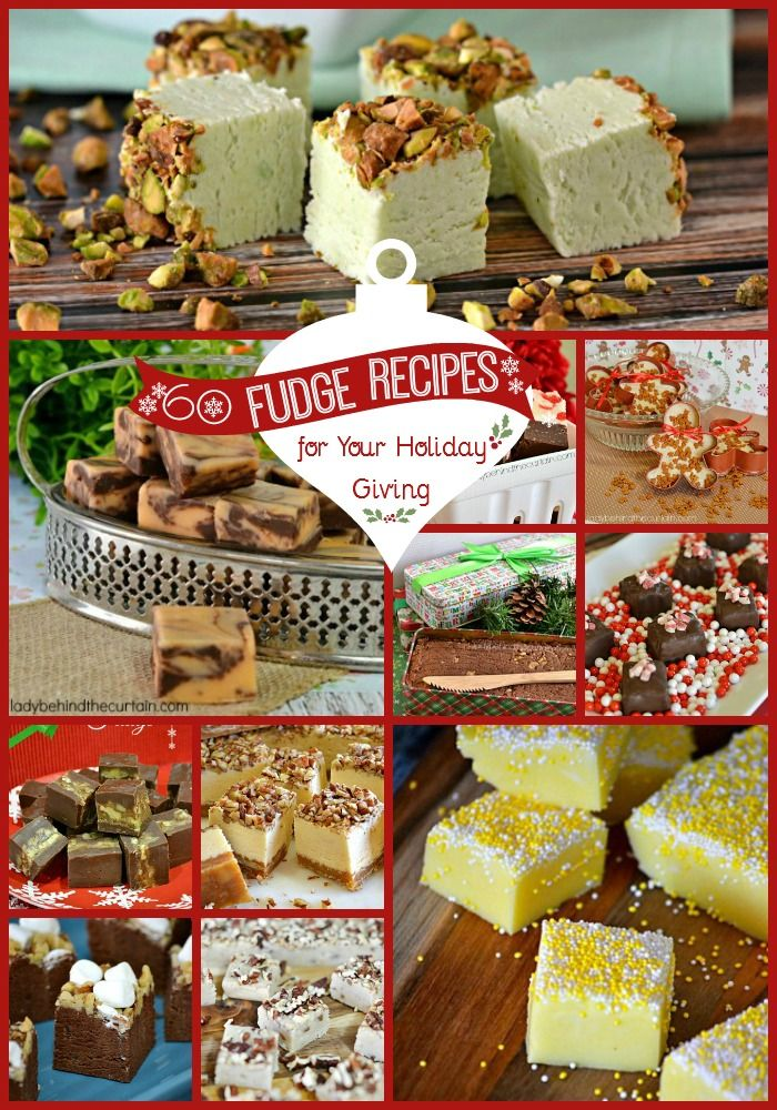 I think fudge is the most popular candy made and given as a gift during the holiday season. Why do you suppose that is? Could it be that EVERYONE loves a
