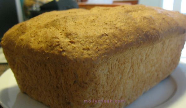 Wholemeal bread #thermomix