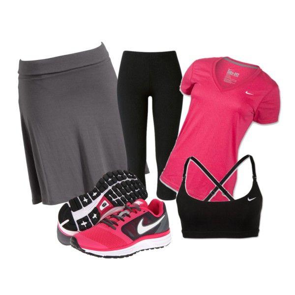 """Modest Workout Outfit:)"" by nancymichellecruz on Polyvore"