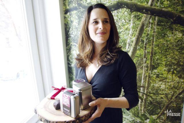 Elle a débuté sur le Plateau Mont-Royal, enraciné sa production dans le Mile-End, séduit les banlieusards dans le Quartier DIX30 puis les clients du marché Atwater: la chocolatière Geneviève Grandbois continue d'étendre sa toile sucrée sur la grande région Montréal avec l'ouverture de sa quatrième boutique.