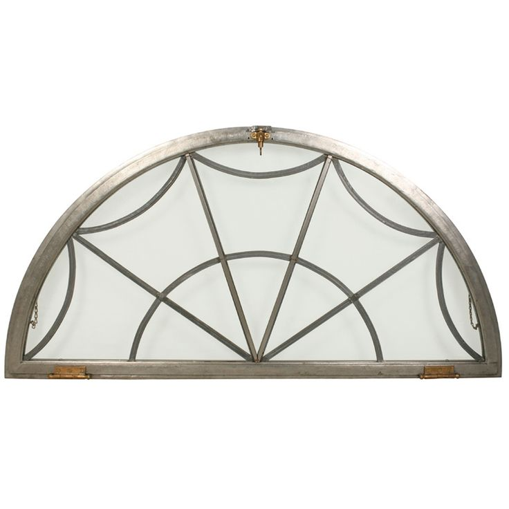 Vintage Arched Window Frame For Sale