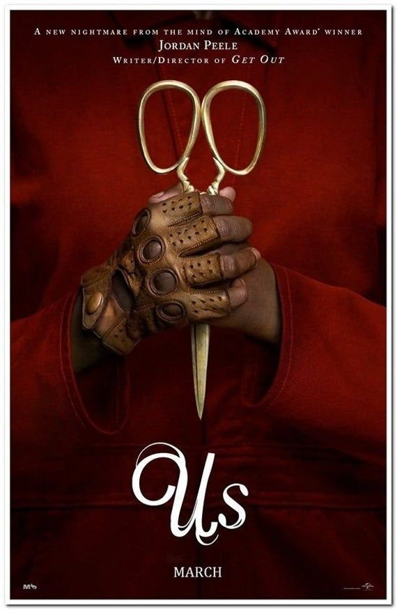 Us 2019 Original 27x40 D S Advance Horror Movie Poster Etsy Upcoming Horror Movies This Is Us Movie Horror Movie Posters