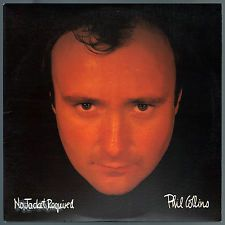 """#No #Jacket #Required, by #Phil #Collins features guest vocalists, including #PeterGabriel and #Sting. """"Don't Lose My Number"""" and """"Take Me Home"""" were top 10 hits in the Billboard Hot 100, with #Sussudio and """"One More Night"""" reaching number one. The album won the #GrammyAward for Album of the Year in 1985. #NoJacketRequired was named after an incident at The Pump Room in Chicago, where #PhilCollins was denied admittance to the establishment because of his attire. #Vinyl #LP"""