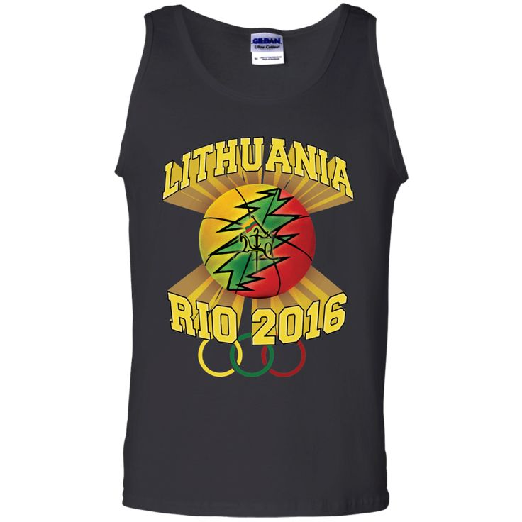 **Rio Olympic Basketball** -- Guys Tank Top