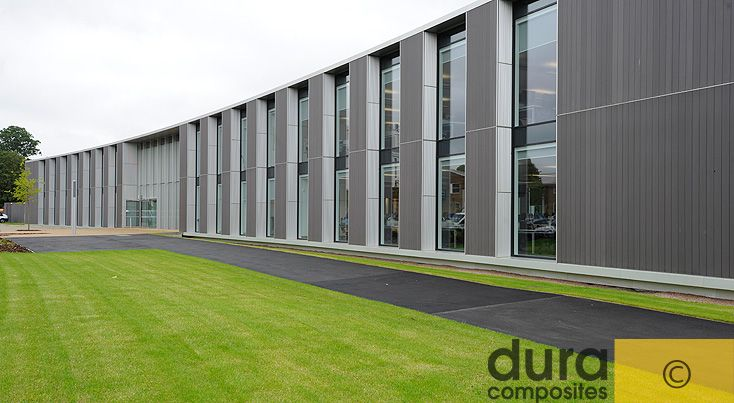 Plastic Cladding is UV stable and has an easy fixing system making it ideal for new or refurb projects.