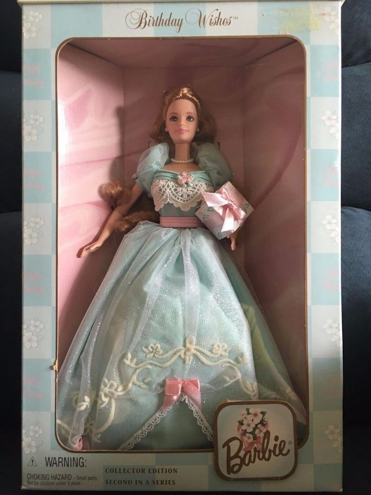 Barbie Birthday Wishes Doll Collector Edition Second 1999