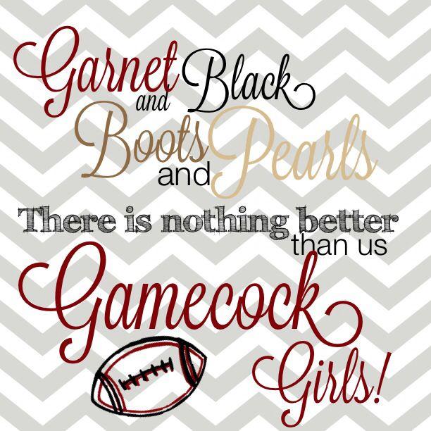 Go Gamecocks!!!! That game was AMAZING! I'm so glad we beat Clemson!