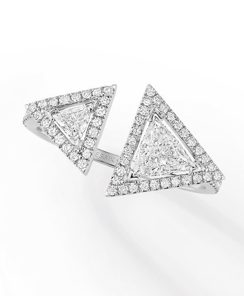 Bague de fiançailles Messika en diamants