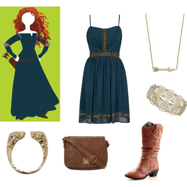 Merida outfit by Polyvore