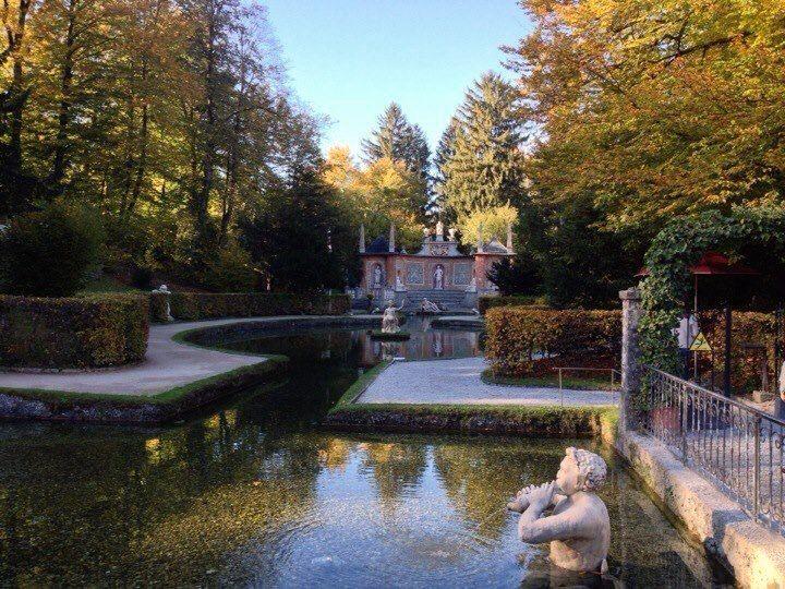 Wasserspiele Hellbrunn Park, Salzburg