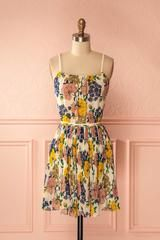 Rodela Yellow Floral Sundress | Boutique 1861