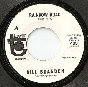 "Bill Brandon - Rainbow Road: buy 7"", Promo at Discogs"