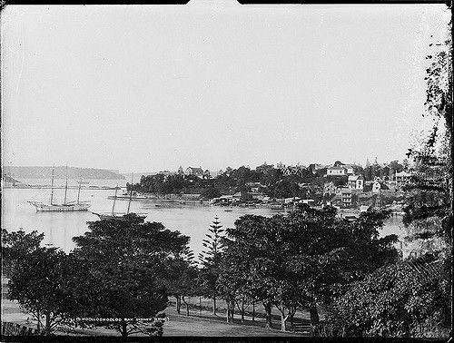 Woolloomooloo Bay, Sydney, 1900