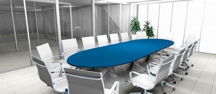Meeting Room Idea - Modern Interior Design - Restyling - Blue / Idea Sala Riunioni - Arredamento Interni Moderno - Rinnovo - Blu