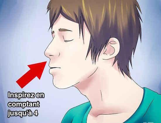 Une méthode de relaxation très efficace La méthode « 4-7-8 » est particulièrement efficace pour les personnes qui ont du mal à s'endormir. Mais elle peut aussi avoir des effets positifs si vous la pratiquez pendant la journée . 1. Touchez votre palais du bout de la langue, juste derrière les incisives du haut. Et tenez cette position durant tout l'exercice. 2. Expirez fort par la bouche (en faisant du bruit) tout l'air de vos poumons...