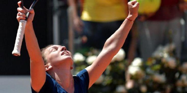 Simona Halep, în finală la Roma după o nouă victorie entuziasmantă. Va juca împotriva Elinei Svitolina