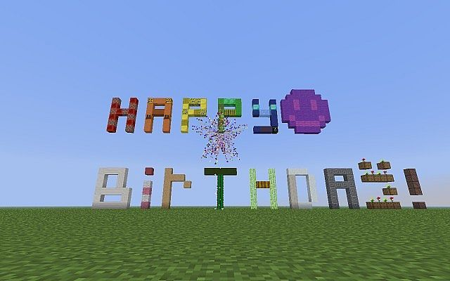 Minecraft Happy Birthday Images | Party ideas | Pinterest ...