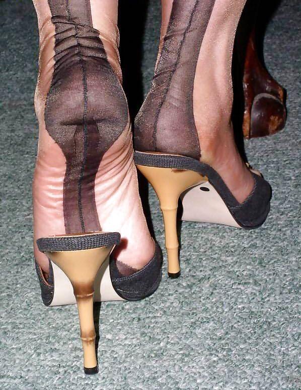Sexy Stockinged Feet 78