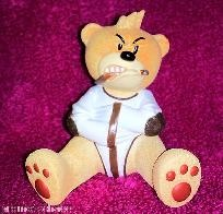 """BAD TASTE BEARS PSYCHO LOOPY Membership Club Box StraitJacket straight Retired 1 We happily offer shipping discounts on multi-item purchases. Thanks for looking. Please tell them that you got it from Promote Chaos! Ebay ID: PromoteChaos  http://stores.ebay.com/PromoteChaosCollectiblesandMore. Promote Chaos is PayPal Verified. MANY ITEMS IN EBAY STORE HAVE """"MAKE OFFER"""" OPTION."""