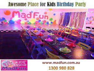 Kids #Birthday Party #Food  source: http://www.madfun.com.au