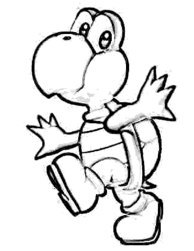 mario question block coloring pages - photo#38