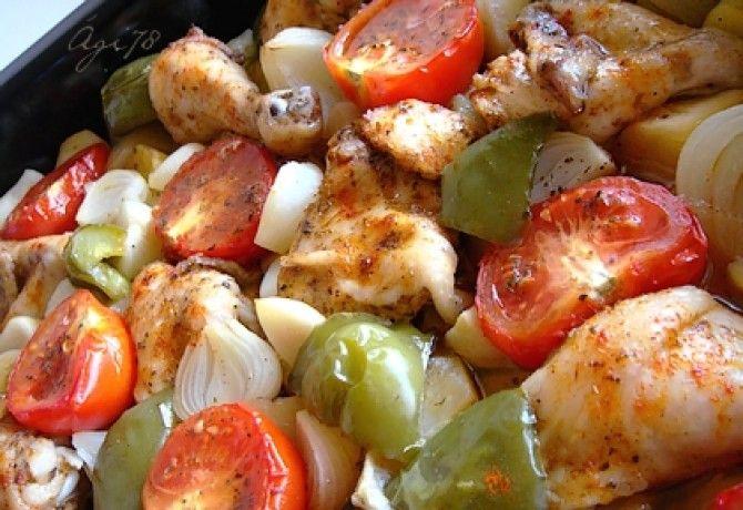 Csirke görög módra