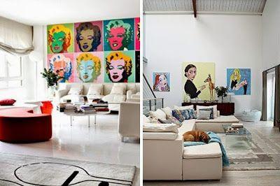 HepiSoda – Popart   Artwork   Craft and Merchandise: Desain Pop Art Di Ruang Keluarga