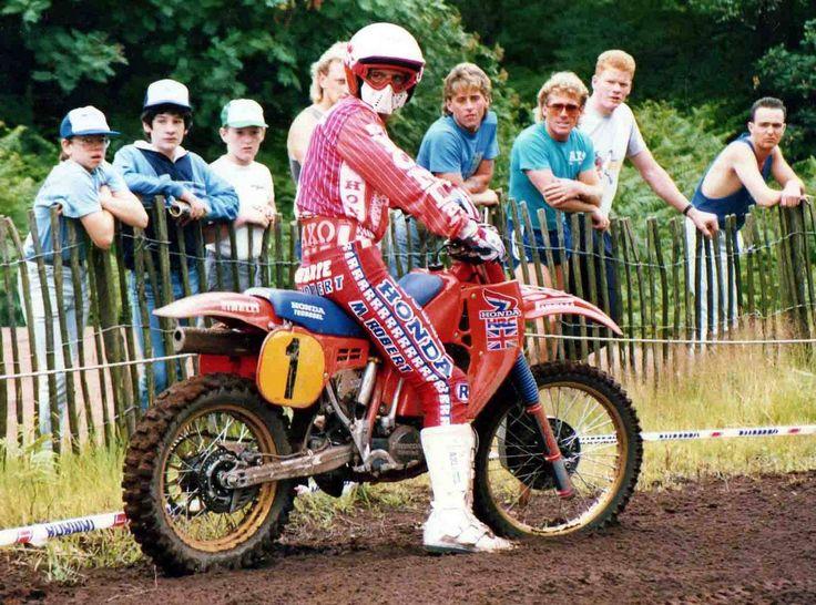 Dave Thrope on the Honda RC500