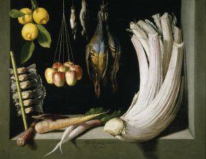 Fruits and Vegetables by Juan Sanchez Cotan Prado Müzesi