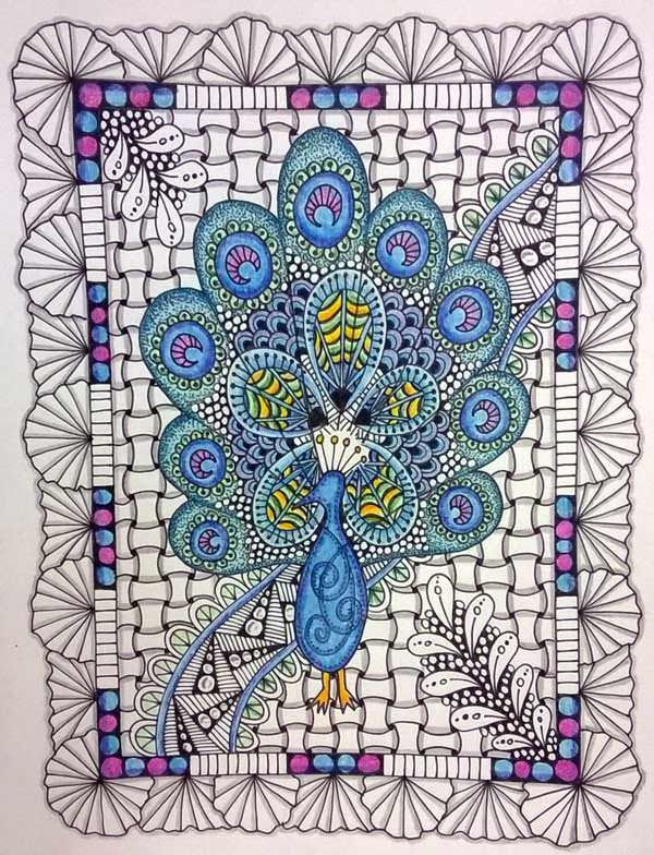 The Practice of Zentangle amp Aura Tips  Tangled Up In Art